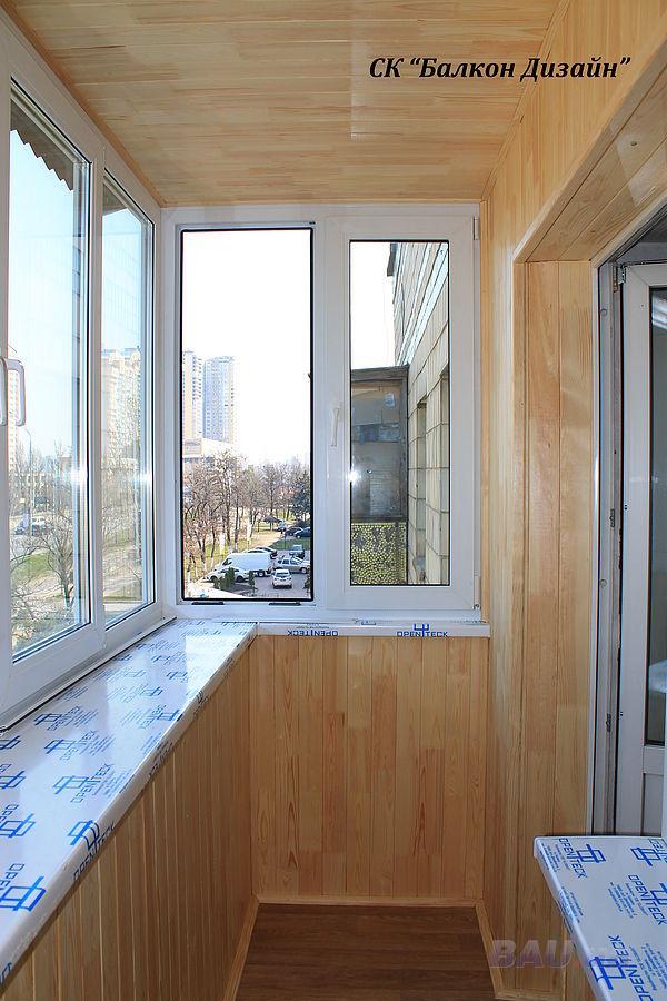 Ремонт пола балкона хрущевки..